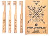 Bambuszahnbürste Kids im 4er Set